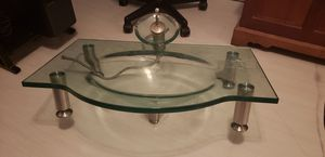Glass sink with waterfall faucet for Sale in Pembroke Pines, FL
