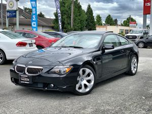 2007 BMW 650I Coupe V8 71K Miles Clean Title 0 Accidents for Sale in Auburn, WA