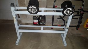 dumbbells rack for Sale in Clayton, MO