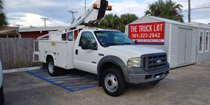 2005 FORD F450 DUALLY BUCKET TRUCK for Sale in Lakeland, FL