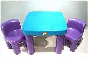 Little Tikes table and 2 chairs for Sale in Oxon Hill, MD