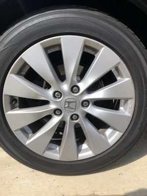 Stock Honda Tire and rims of a 2015 Honda Accord Size 17 for Sale in Forest Heights, MD