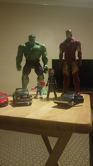 Cars and marvel hereos for Sale in Philadelphia, PA