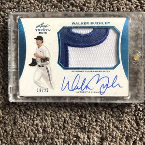 Walker Buehler Rc Auto 18/25 🔥🔥🚨stud!! Invest Now for Sale in Huntington Park, CA