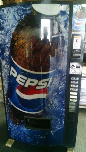 Pepsi Coin/Bill Machine for Outdoor Use for Sale in Kent, WA