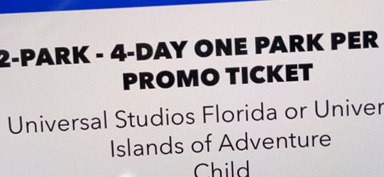 Universal Studio Tickets for Sale in Orlando,  FL