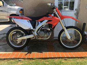 2006 Honda CRF450R for Sale in Downey, CA