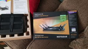 Nighthawk x6 AC3200 Tri band wifi router for Sale in Elk Grove, CA