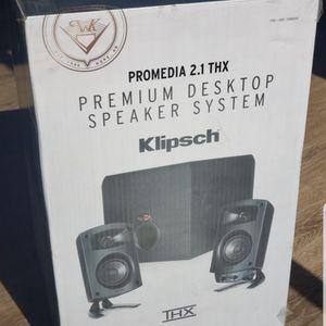 Promedia 2.1 THX Premium Desktop Speaker for Sale in San Diego, CA