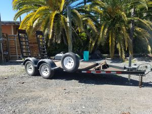Strong utility trailer ready to work or play heavy duty for Sale in Miami, FL