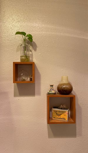 Small wall shelves both for $12 for Sale in Tustin, CA