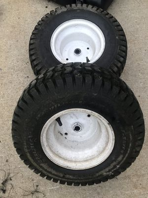 Lawn tractor rear tires and wheels for Sale in Roselle, IL