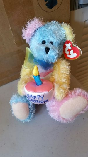 Happy Birthday Beanie Baby for Sale in Sunnyvale, CA