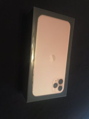 Apple iPhone 11 pro Max 256 GB Gold Brand New Unlocked with proof of purchase receipt paid full price for Sale in Fremont, CA
