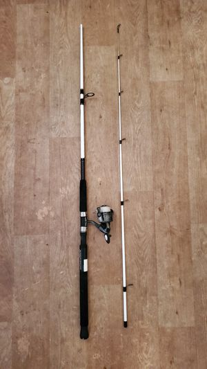 Medium heavy fishing rod & reel combo with line for Sale in Torrance, CA