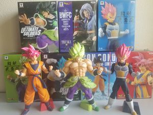 Dragonball statues set of 7 for Sale in Murrieta, CA
