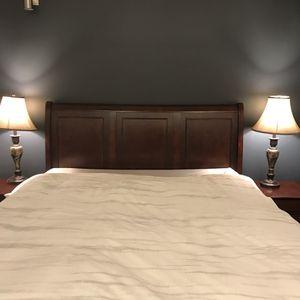 Dark Wood Bedroom Set for Sale in Washington, DC