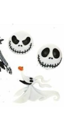 """Nightmare Before Christmas Buttons Embellishments Jack Is Appr. 1 1/2"""" Tall - 6 Buttons for Sale in Chicago,  IL"""