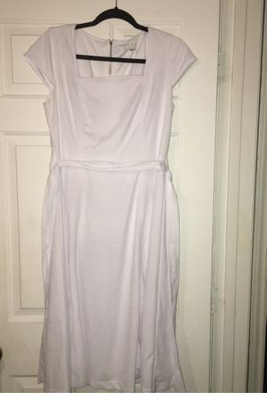 """EST. 1948"" M(Size 10) Graduation , Wedding , Etc.. White Dress for Sale in Chesterfield, SC"