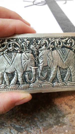 Beautiful silver card holder for Sale in Springfield, VA