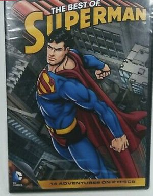 Superman dvd cartoon for Sale in Los Angeles, CA