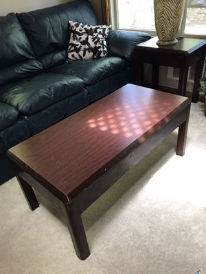 3 pcs set of desk, coffee table and side table for Sale in Annandale, VA