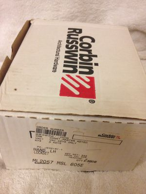 corbin russwin ML2057 605E brass lockset for Sale in Anderson, SC