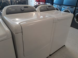 Whirlpool cabrio tap load washer and electric dryer set in good condition with 90 day's warranty for Sale in Mount Rainier, MD