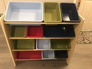 TOY STORAGE ORGANIZER for Sale in Inver Grove Heights, MN