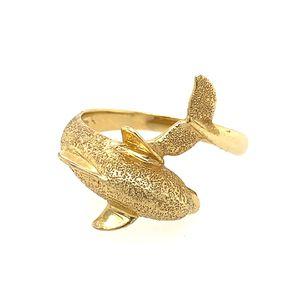 14k Dolphin Ring for Sale in Alexandria, VA