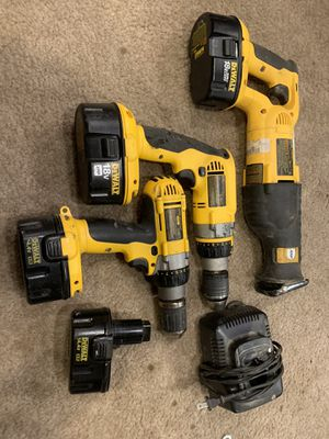 Dewalt drills and sawzall for Sale in Canonsburg, PA