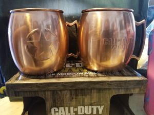 COD WW2 Moscow Mule Mugs for Sale in Los Angeles, CA