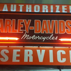 NEON HARLEY DAVIDSON SIGN for Sale in League City, TX