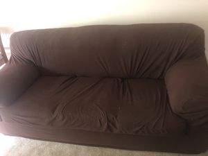 A three seater and a two seater sofa available for Sale in Chelmsford, MA