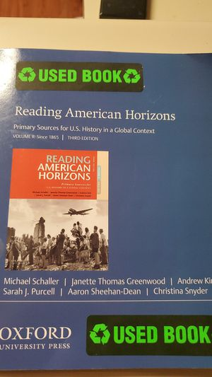 Reading American Horizons for Sale in Lubbock, TX