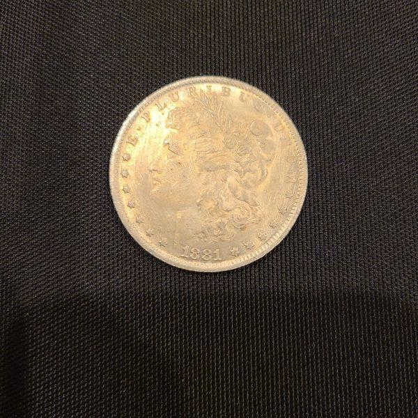 1881 Dollar Coin