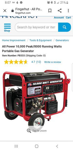 Generator for Sale in Montgomery, AL