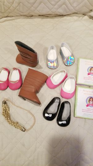 American girls doll shoes and assesories lot for Sale in Los Angeles, CA