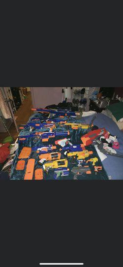 nerf gun collection *READ DESCRIPTION* for Sale in Providence,  RI