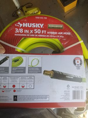 Husky air hose for Sale in Victorville, CA