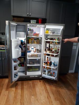 Refrigerator. Whirlpool 33 x 66 x 3w depth. for Sale in Billings, MT