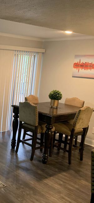 Tall kitchen table with chairs for Sale in Austin, TX