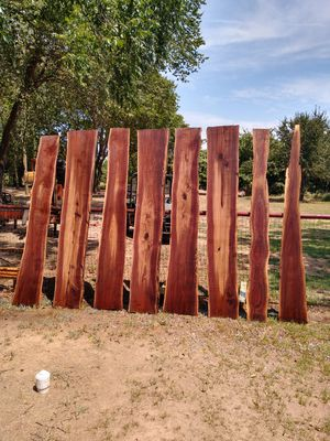 "Black walnut slabs 8 ft long 11"" to 16"" wide for Sale in Alvarado, TX"