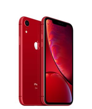 2 iPhone XR red and black with cases unlocked for Sale in Denver, CO