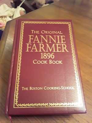Fannie Farmer 1896 Cookbook ( New ) for Sale in Lauderhill, FL