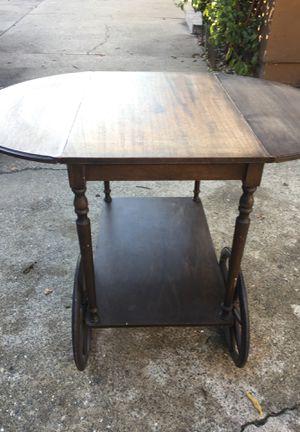 Antique portable table for Sale in Lodi, CA