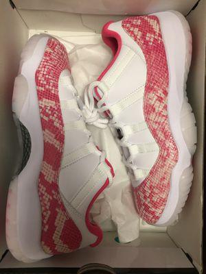 Jordan XI pink snakeskin low for Sale in Renton, WA