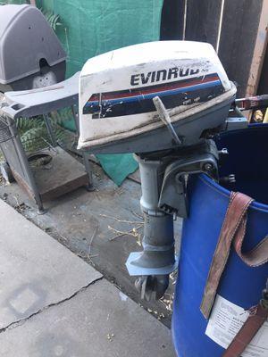 Evinrude 4hp outboard motor for Sale in Modesto, CA