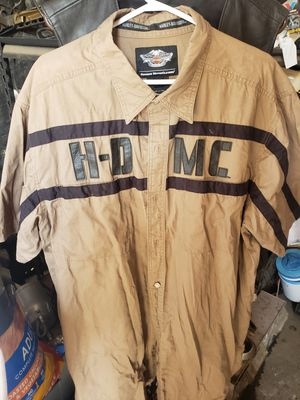 Harley davidson gear vest xl pants 36 shirt xxl for Sale in Los Angeles, CA