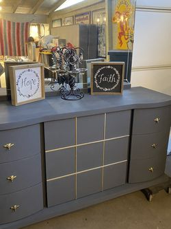 Tv Stand Or Large Dresser Included 1 Nightstand Stand for Sale in Covina,  CA